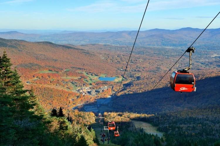 Gondola Skyride to Mount Mansfield's Summit