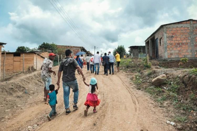 Villages on the Border with Venezuela