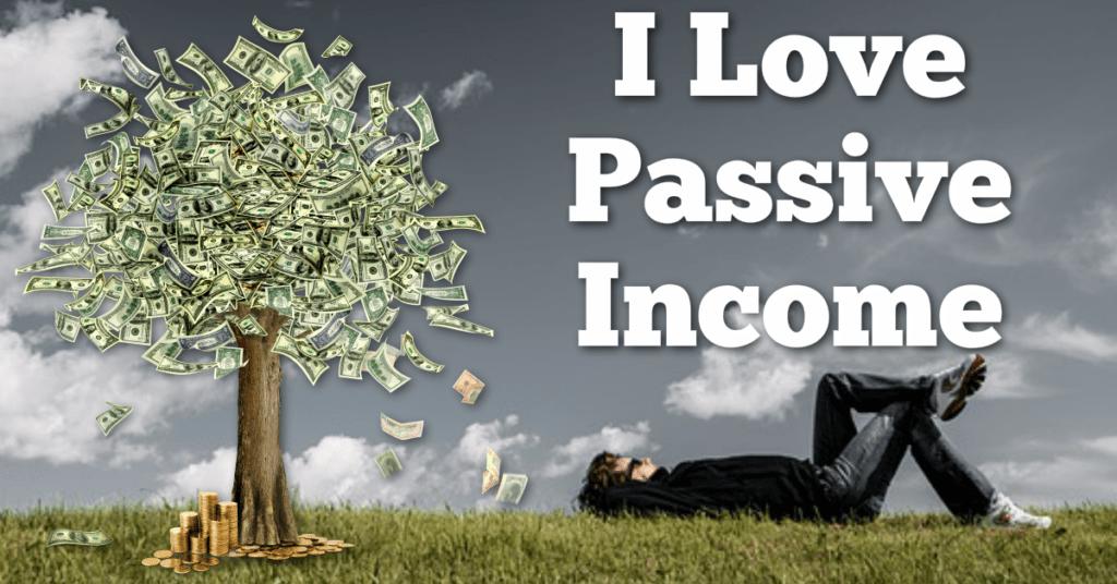 passive income build real wealth