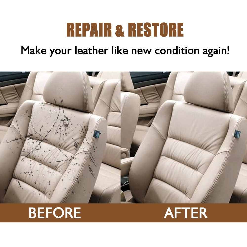 Leather Repair Cream Is Used To Repair The Damage Of Car Seat Leather And The Scratch Of Props