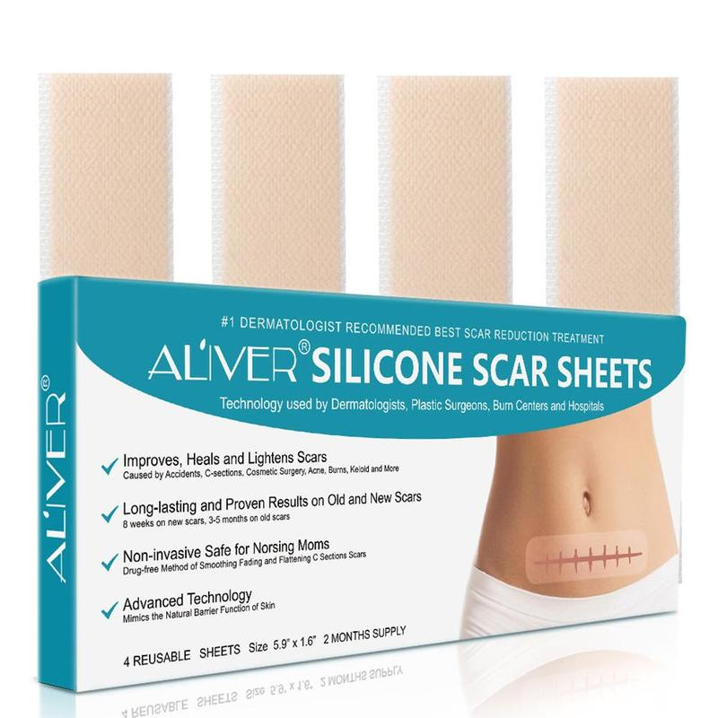 Silicone Surgical Scar Removal Patch Remove Trauma Burn Sheet Skin Repair Scar Removal Therapy Patch For Acne Scar Treatment
