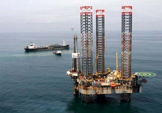 oil rig in Nigeria