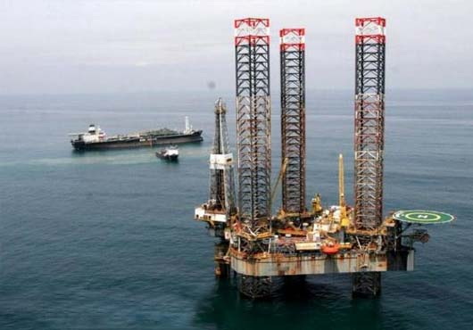 oil rig in Nigeria