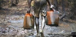 oil vandalisation