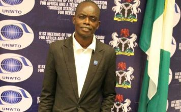 John Omololu Olumuyiwa, founder, Travelscope Youth Tourism Forum