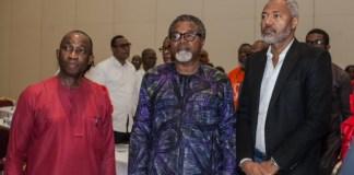 L-R: NCC DG Asein, Mahmood Ali-Balogun with Emeka Mba