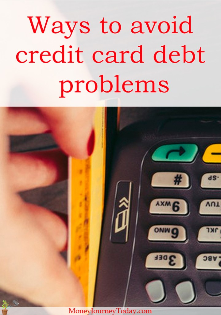 Ways To Avoid Credit Card Debt Problems Personal Finance