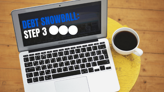 debt snowball step 3