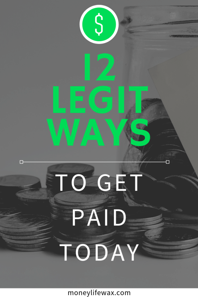 12 ways to get paid today