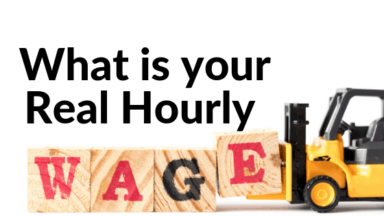 real hourly wage
