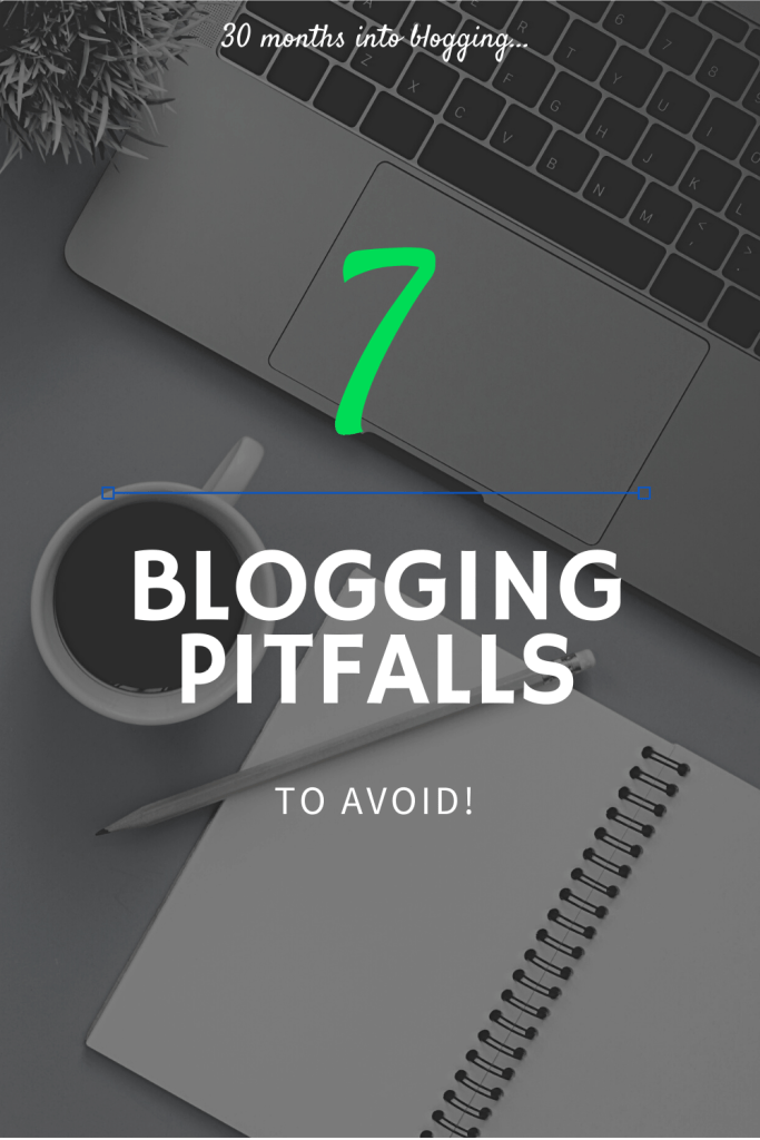 blogging mistakes and pitfalls to avoid