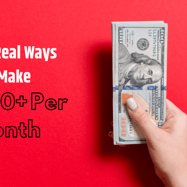 ways to make an extra 1000 per month