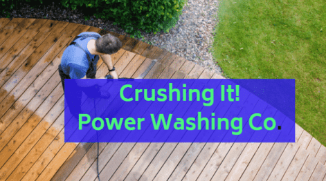how to start a power washing company
