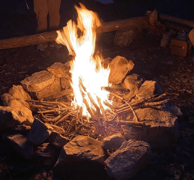 things to do with friends camping