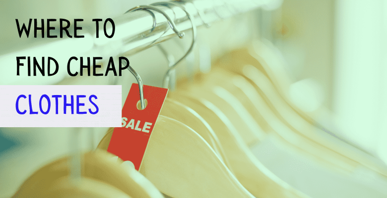 where to find cheap clothes