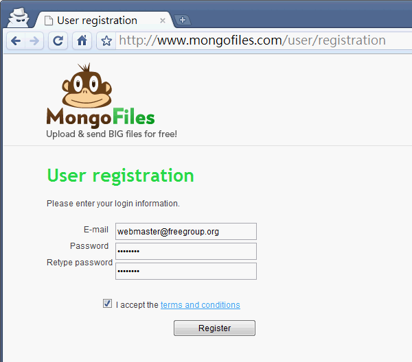 MongoFiles