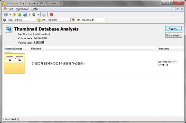 Windows File Analyzer