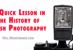 A Quick Lesson in the History of Flash Photography