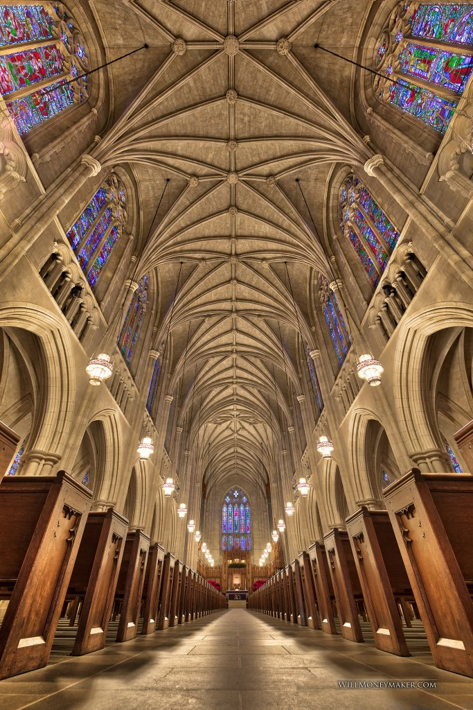 Another fun day using my Platypod photographing the Duke University Chapel