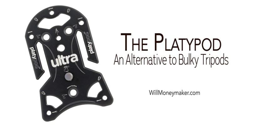 The Platypod: An Alternative to Bulky Tripods