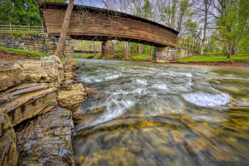 The Humpback Covered Bridge.
