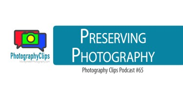 Preserving Photography