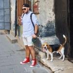 A-Man-Dog-Petting