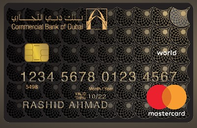 Commercial Bank of Dubai World MasterCard
