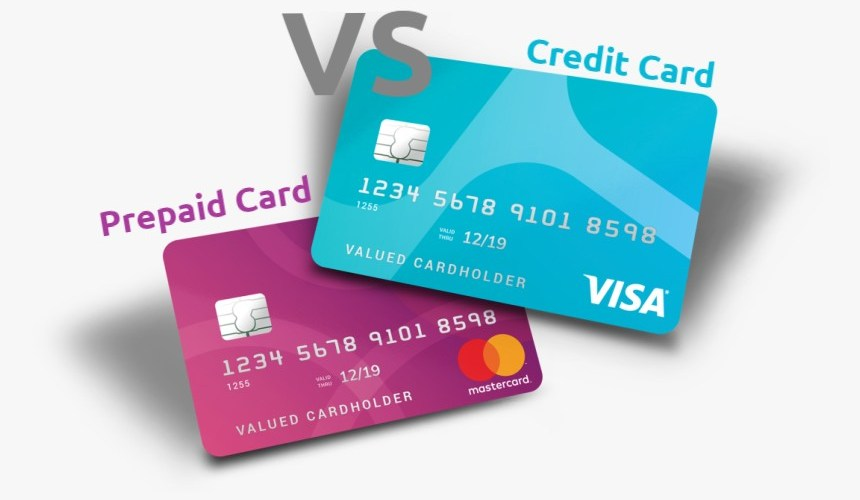prepaid cards vs credit cards