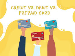 Which one is better for shopping – Credit Card, Debit Card or a Prepaid Card?