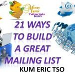 21 ways to build a great mailing list