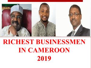 richest businessmen in Cameroon