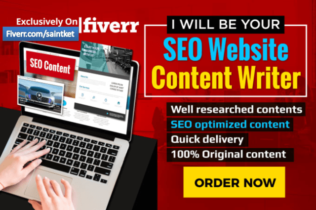 SEO Website Content Writer