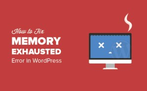 How to Fix WordPress Memory Exhausted Error?