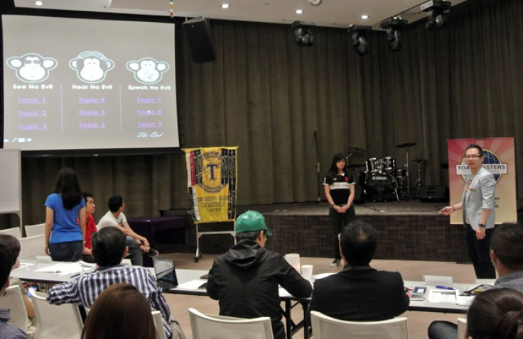 Table Topics Master Ttm Toastmasters Club In Singapore