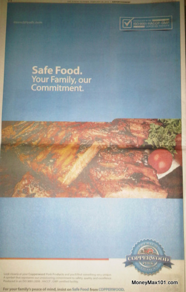 Caribbean Broilers Safety Campaign Ad #2