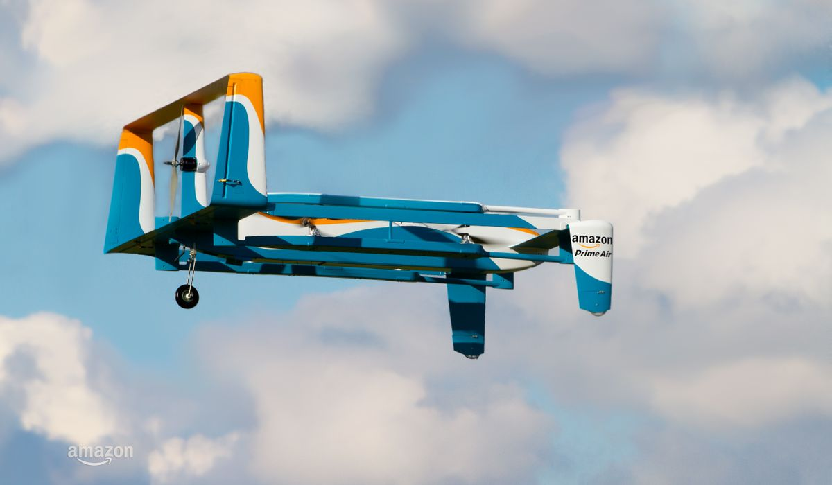 AgEagle Aerial Systems USAVS, Amazon AMZN