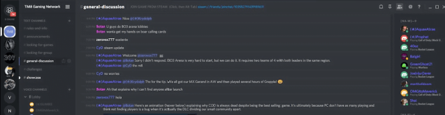 Discord chat application