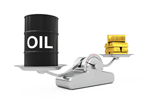 oil and gold prices