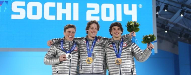 Olympic athletes representing the U.S. In Sochi. Photo Credit: RDMSTUDIO / Shutterstock.com