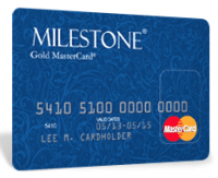 Bad Credit Card Milestone Gold