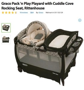baby costs pack n play