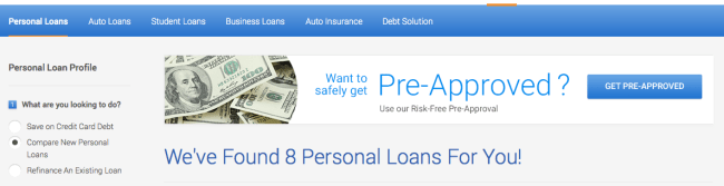 credit karma free credit scores loans