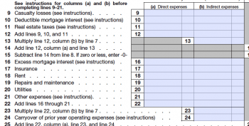 Home Office Deduction expenses