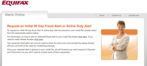 free credit report fraud alert