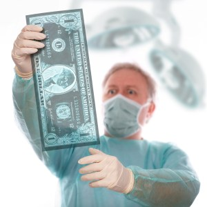 doctor taking money from big pharma