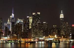 Manhattan Skyline [Dmitry Avdeev - Wikipedia]