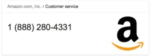 amazon vs ebay customer service number