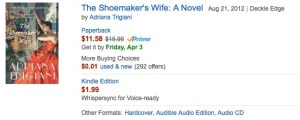 books lose value shoemakers wife