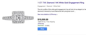 diamond engagement rings lose money